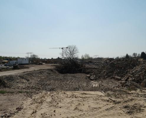Baustelle der Parkstadt Karlshorst