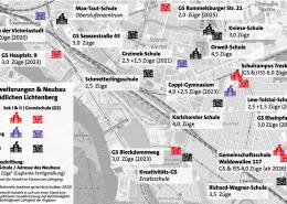 Bestehende und geplante Schule im Wahlkreis (Stand: 05/2020)